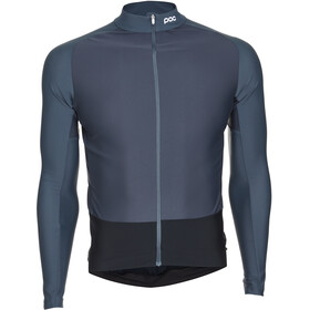 POC Essential Road Mid LS Jersey Men francium multi grey